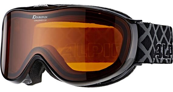 Alpina Challenge S 2.0 Doubleflex S2 goggles zwart